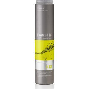 HydraKer Shampoo med argan oile og keratin