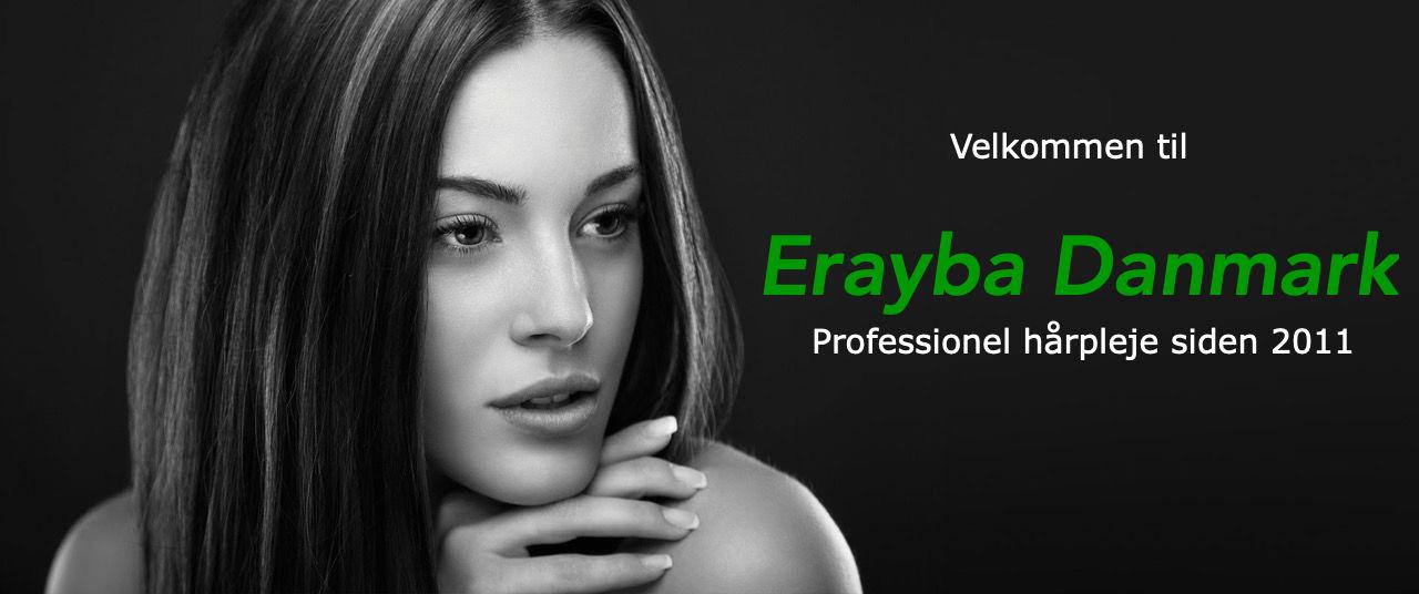 Kontakt os - Erayba Danmark professionelle hårprodukter og hårpleje siden 2011